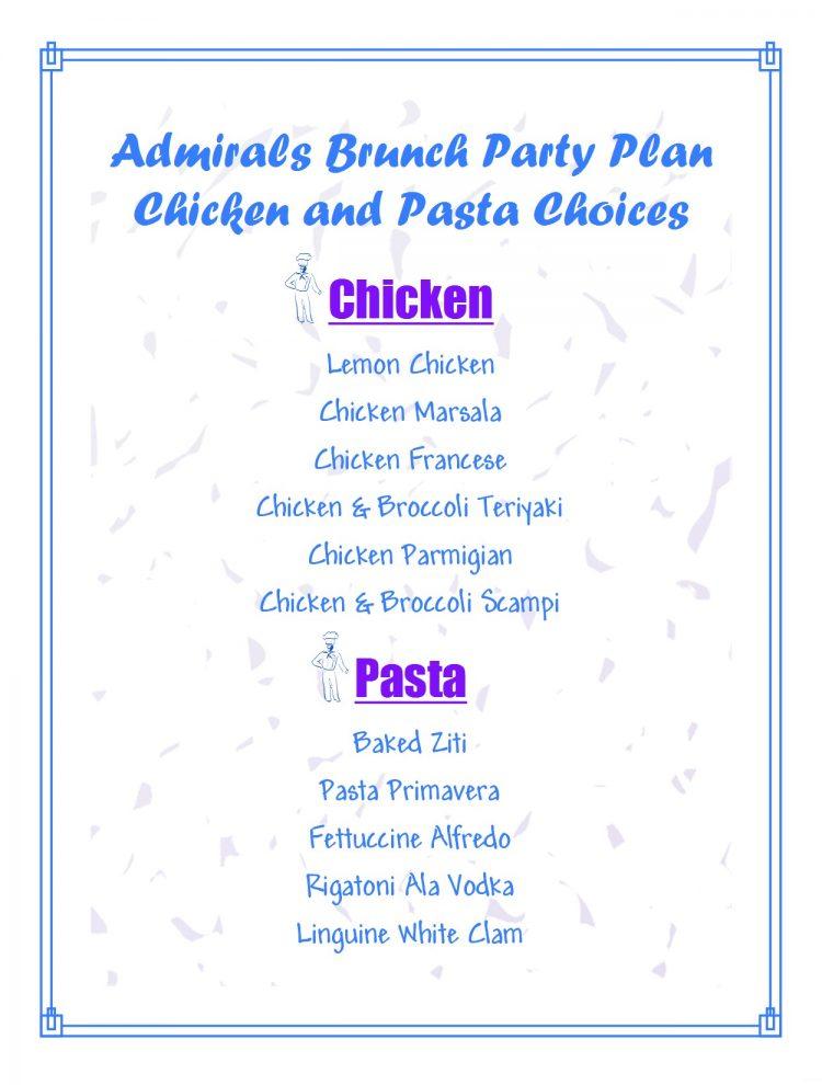 Pasta & Chicken Choices